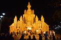 Durga Puja Pandal - Biswamilani - Padmapukur Water Treatment Plant Road - Howrah 2014-10-02 9169.JPG