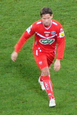 Dusan Djuric - Image: Dusan Djuric (premier match à Valenciennes)