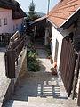 Dwelling house. Listed ID 10495. Stairs. - 53 Csokonai street, Tihany.JPG