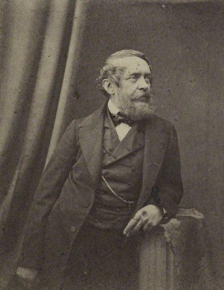 E. Poulton Portrait of Lajos Kossuth 1860s