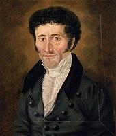 E. T. A. Hoffmann, self-portrait, c. 1820 (Source: Wikimedia)