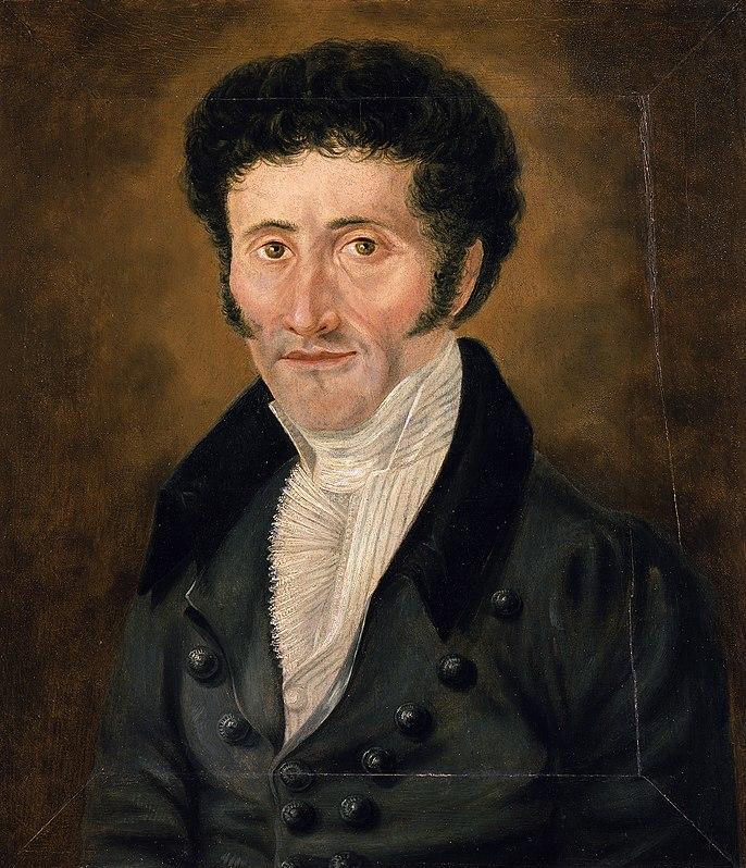 E. T. A. Hoffmann, autorretrato