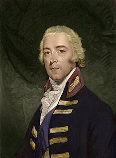 John Pitt, 2nd Earl of Chatham British Army general