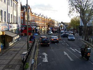 East Finchley - Image: East finchley high rd