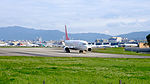 Easter Jet Boeing 737-883 HL8292 Departing from Taipei Songshan Airport 20160126a.jpg