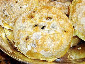 Eccles cake - Image: Eccles cake