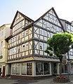 """Eckhaus am Obermarkt mit """"Wilden Mannfiguren"""" - Eschwege Obermarkt 16 - panoramio.jpg"""