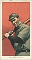 Ed Willett, Detroit Tigers, baseball card portrait LCCN2008676802.jpg