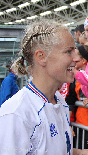 Edda Garðarsdóttir - Edda in 2009