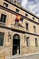 Edificio sede actual del Instituto Navarro de Administración Pública y del Departamento de Cultura, Turismo y Administraciones Públicas, en la calle de Navarrería de Pamplona.jpg