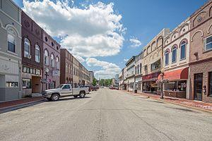 Edinburgh, Indiana - Photo from Small Town Indiana photo survey.