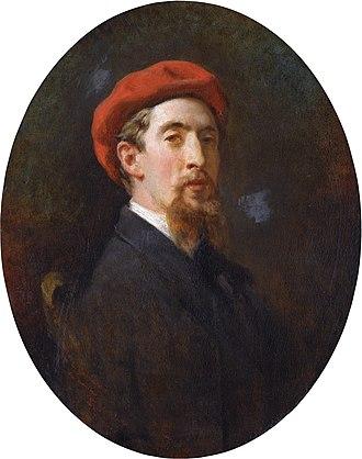 Eduardo Zamacois y Zabala - His portrait by Raimundo de Madrazo (1863)
