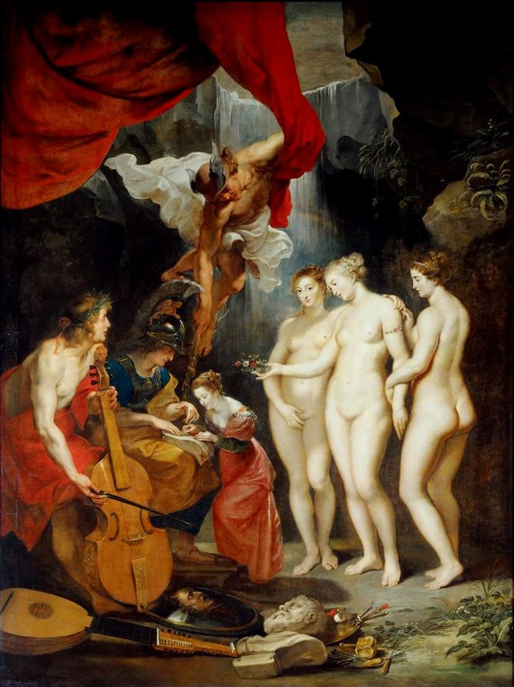 Education of the Princess by Peter Paul Rubens