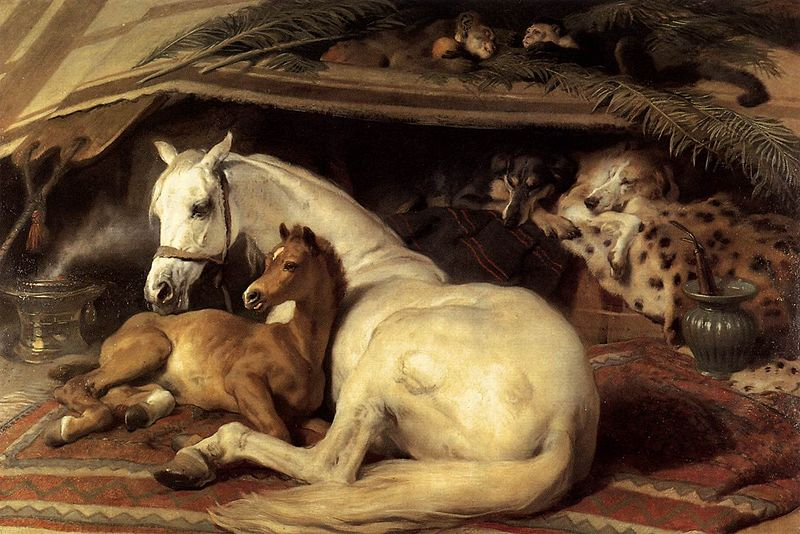 File:Edwin Landseer - The Arab Tent - WGA12440.jpg