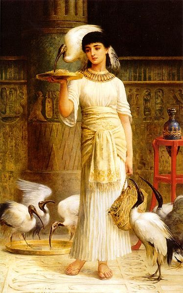 File:Edwin Longsden Long - Alethe Attendant of the Sacred Ibis in the Temple of Isis at.jpg