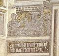 Eggenburg Sgraffitohaus - Lazarus 1 Gastmahl.jpg
