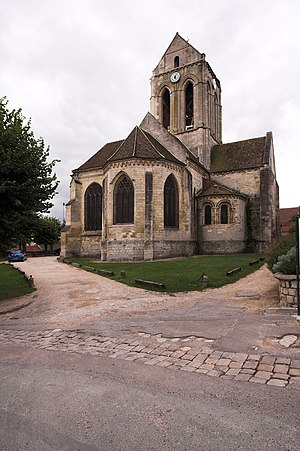 The Church at Auvers - The church in 2006