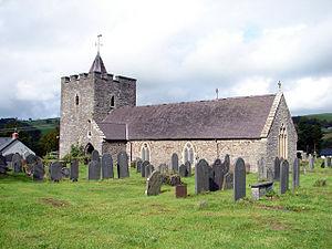 Llanilar - St Hilary's Church