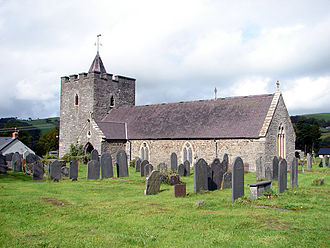 Llanilar - St Hilary's Church