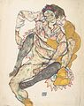 Egon Schiele - Sitzendes Paar - 1915.jpeg