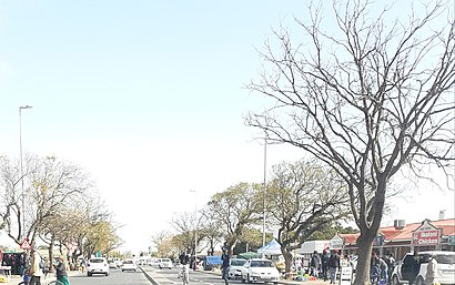 How to get to Kraaifontein with public transport- About the place