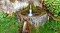 Ein natürlicher Quellwasserbrunnen im Margarethenhof in Flensburg. - panoramio.jpg