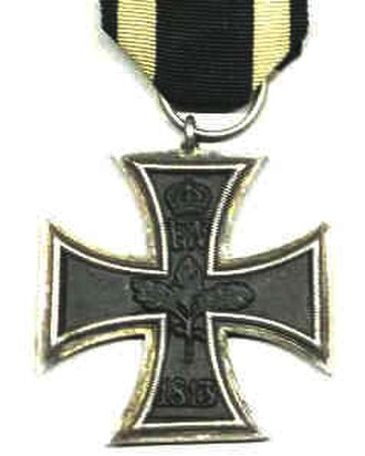 Knight's Cross of the Iron Cross - 1813 Iron Cross