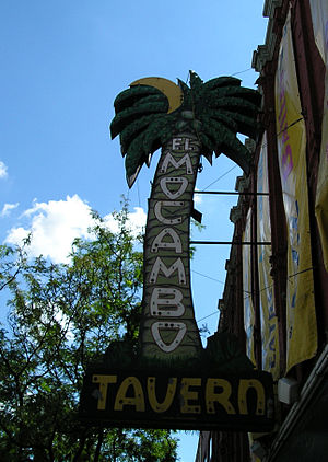 El Mocambo - The iconic El Mocambo sign