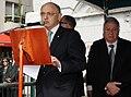 El Canciller Héctor Timerman asistió junto al embajador de Israel, Daniel Gazit al acto recordatorio en memoria de las víctimas del atentado a la embajada de Israel, hace 19 años en ese mismo lugar (5535561962).jpg