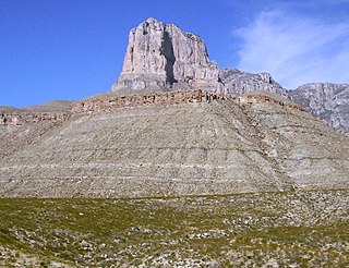 El Capitan (Texas) mountain in the US state of Texas