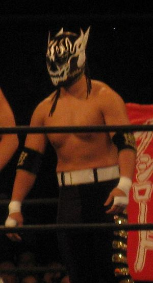 Kyosuke Mikami - Mikami as El Desperado in March 2014.