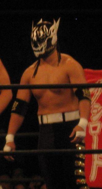 El Desperado (wrestler) - Mikami as El Desperado in March 2014.