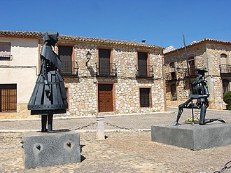 Dulcinea del Toboso - Monument to Don Quixote and Dulcinea, Castilla-La Mancha, Spain.