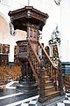 Elaborately carved wooden pulpit (27662758626).jpg