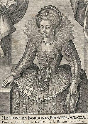 Éléonore de Bourbon - Image: Eleonorevanbourbonco nde