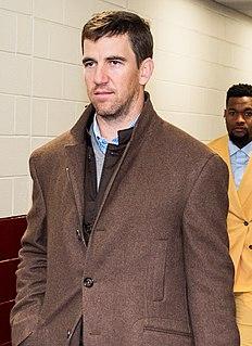 Eli Manning American football quarterback