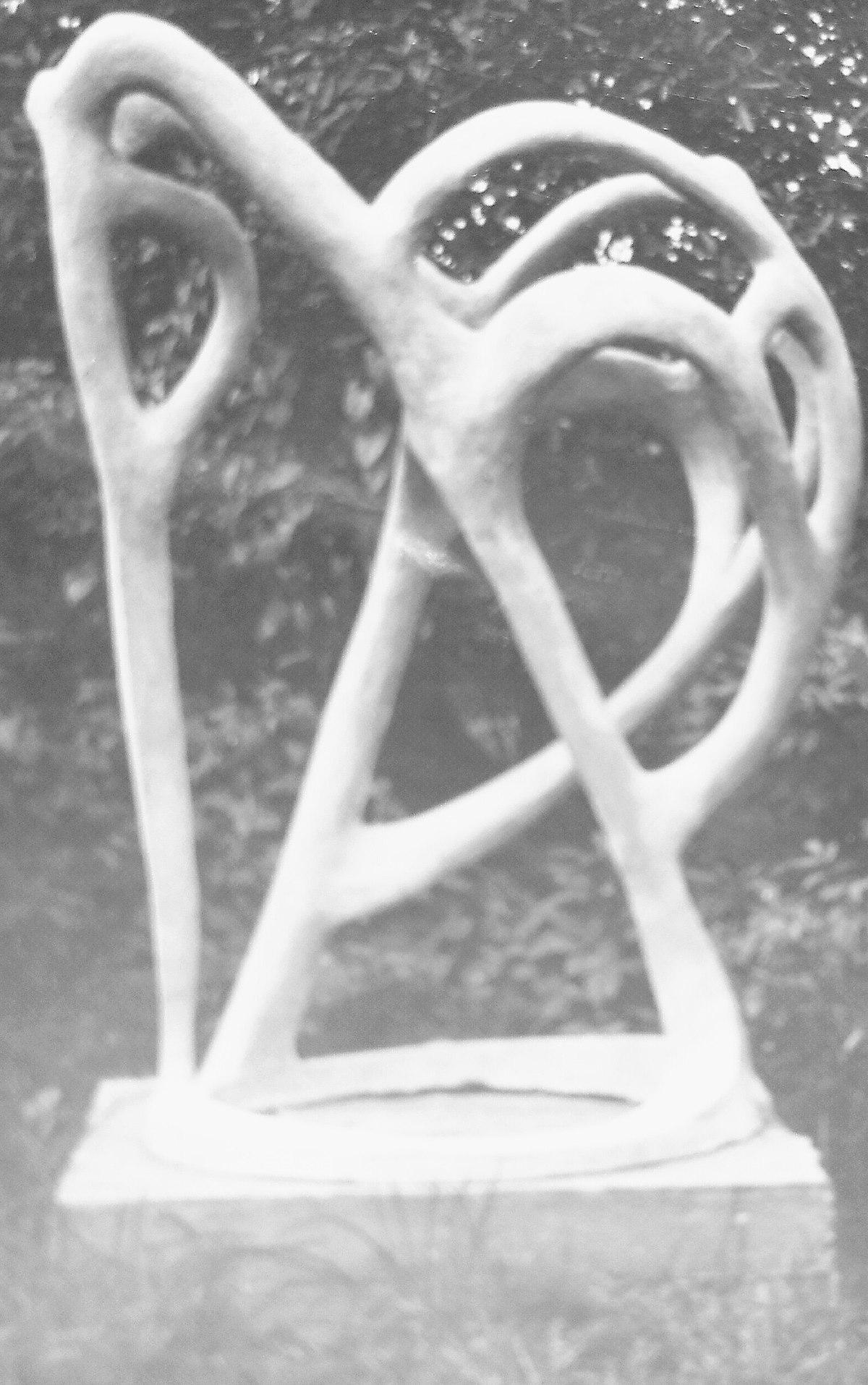 File Elisabeth Hoffmann Der Fischreiher Skulptur Beton 1959 Jpg Wikimedia Commons