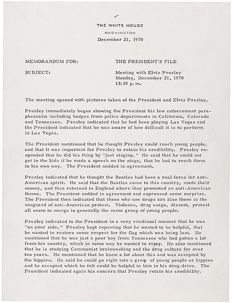 File:Elvis-Nixon Meeting Notes - Page 1 of 2.jpg