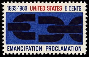 Emancipation Proclamation 1963 U.S. stamp.1