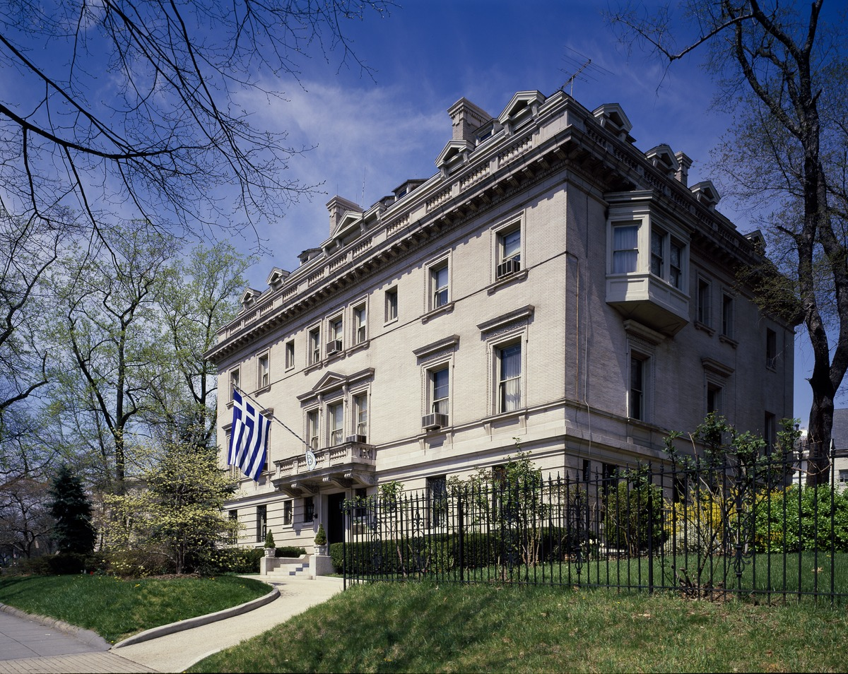 Embassy Of Greece Washington DC Wikipedia - Us embassy kuwait zip code