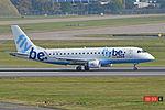 Embraer ERJ-175STD 'G-FBJE' Flybe (22216616413).jpg