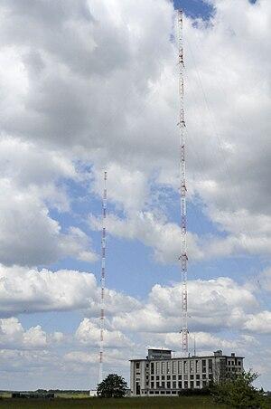 TDF time signal - Image: Emetteur allouis 3