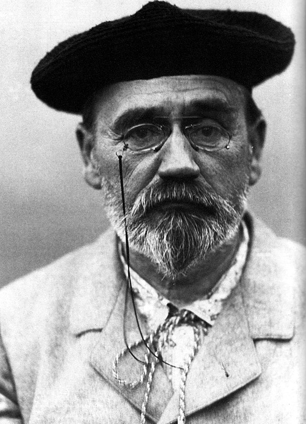 Photo Émile Zola via Wikidata