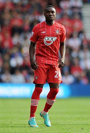 Emmanuel Mayuka - Mayuka playing for Southampton in 2013
