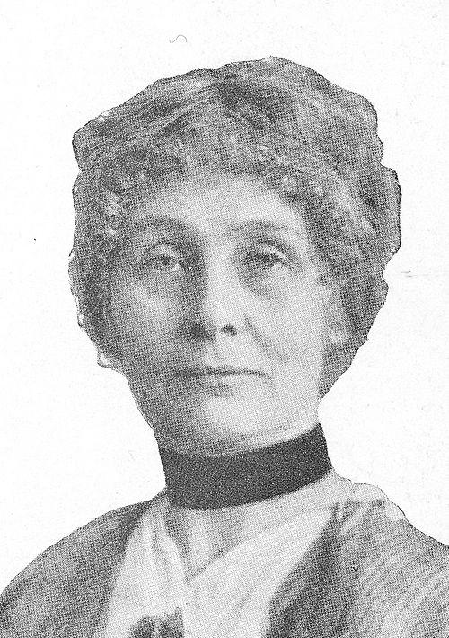 Emmeline pankhurst portrait