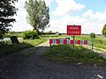 End of the road, Bannfoot - geograph.org.uk - 2506958.jpg
