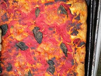 Enrico Biscotti Company - Image: Enrico Biscotti focaccia pizza