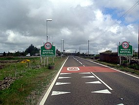 Entering Spittal - geograph.org.uk - 830646.jpg