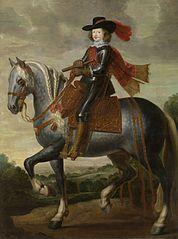 Ruiterportret van kardinaal-infant Ferdinand van Spanje