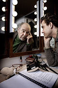Eric en Beau Schneider, publiciteitsfoto Levenslang Theater, 2013.